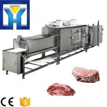 Industrial Continuous Tunnel Microwave Food Thawing Machine