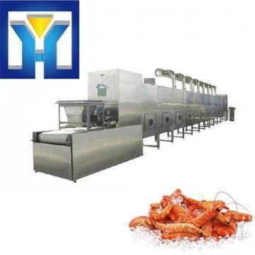 50kw PLC Control System Microwave Frozen Shrimp Thawing Machine