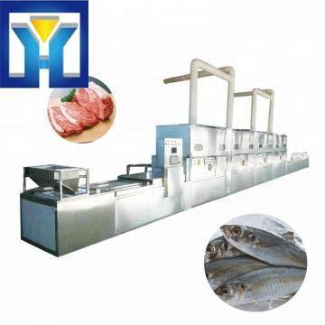 Easy operation electric microwave thawing defrosting machine for chicken beef shrimp