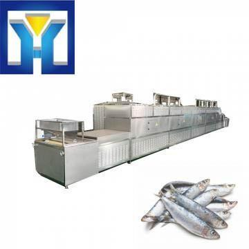 Tunnel 50 Kw Microwave Fish Thawing Machine