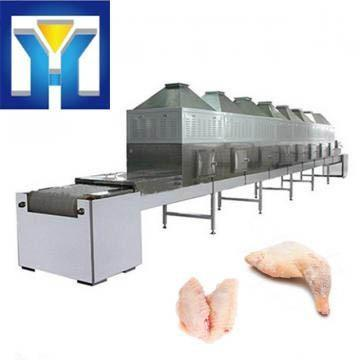 2018 Hot Sale 200KW Tunnel Frozen Chicken Microwave Thawing Machine