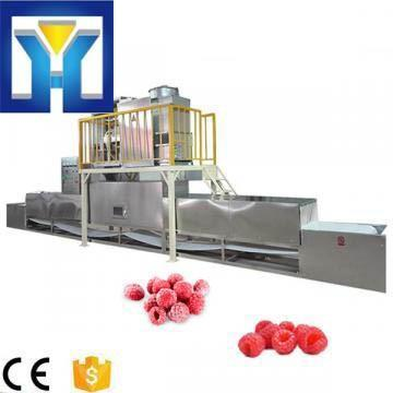 High Efficiency 25kw Microwave Frozen Fruit Thawing Machine