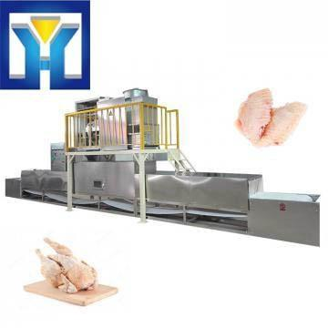 Low Price High quality all stainless steel poultry meat microwave thawing machine