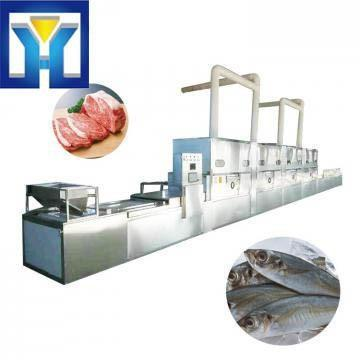 High quality seafood microwave defrosting machine