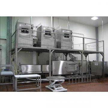 Fully Automatic Tunnel Microwave Thawing Food Equipment