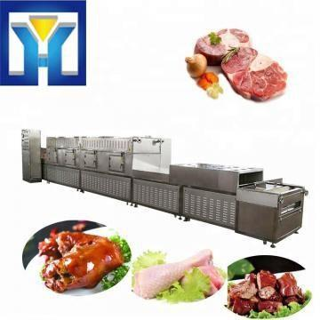 Tunnel-type Microwave Conveyor For Pork Thawing Equipment